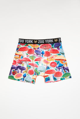 Zoo York Mens Colourful Mushroom Boxer Brief