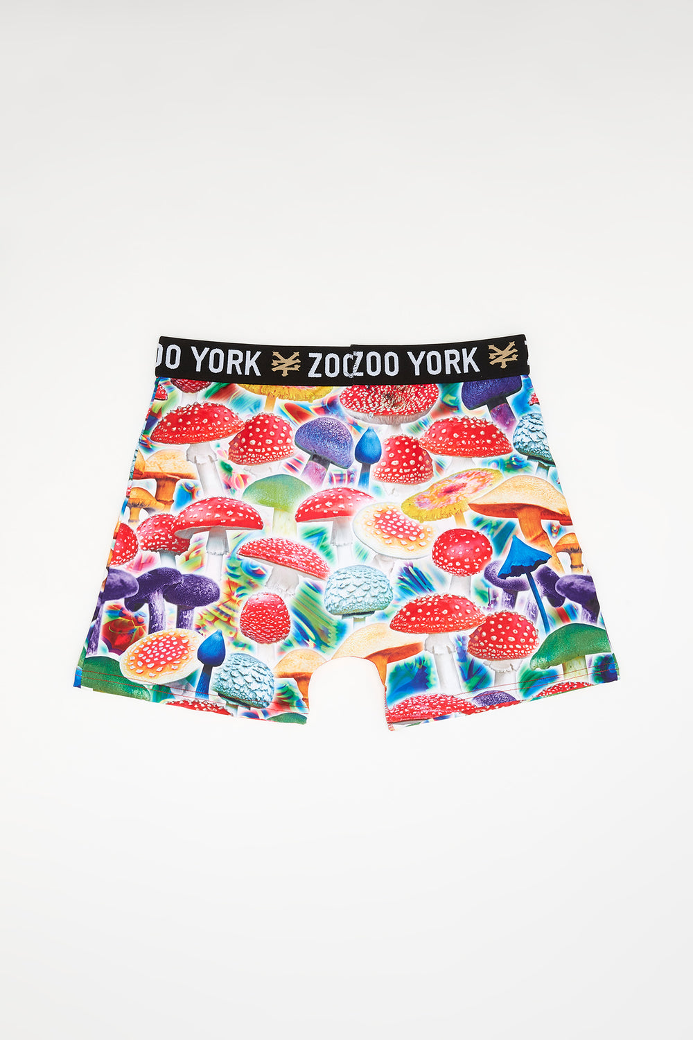 Zoo York Mens Colourful Mushroom Boxer Brief Multi