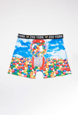 Zoo York Mens Gumball Boxer Brief