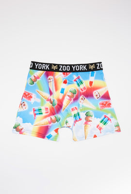 Zoo York Mens Rainbow Ice Cream Boxer Brief