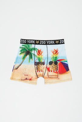Boxer Tropical Zoo York Homme