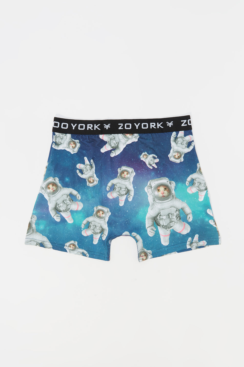 Zoo York Mens Space Cat Boxer Brief Green