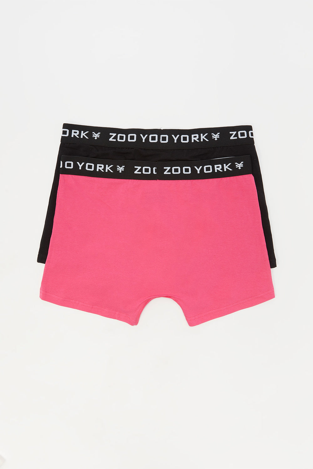 Zoo York Mens 2-Pack Cotton Boxer Briefs Pink