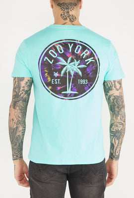 Zoo York Mens Palm Tree Logo T-Shirt