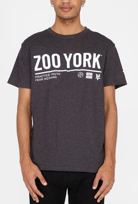 Zoo York Mens Basic Logo T-Shirt