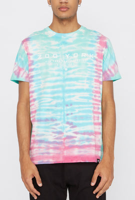 Zoo York Mens Logo Tie-Dye T-Shirt