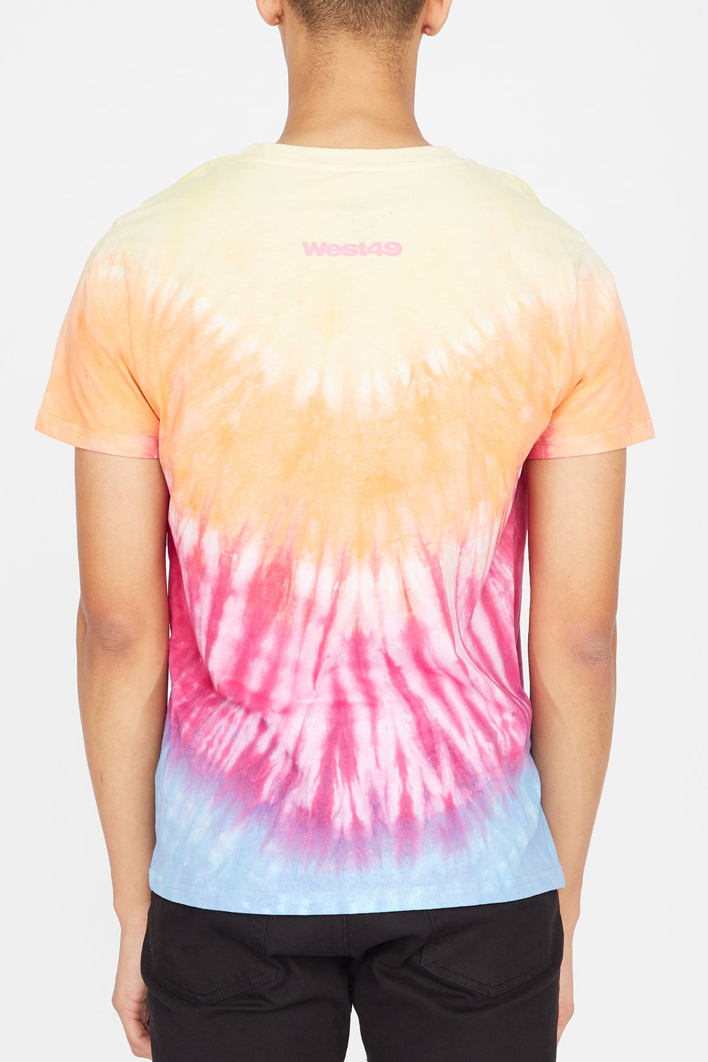 T-Shirt Tie-Dye Head in the Clouds Homme Multi