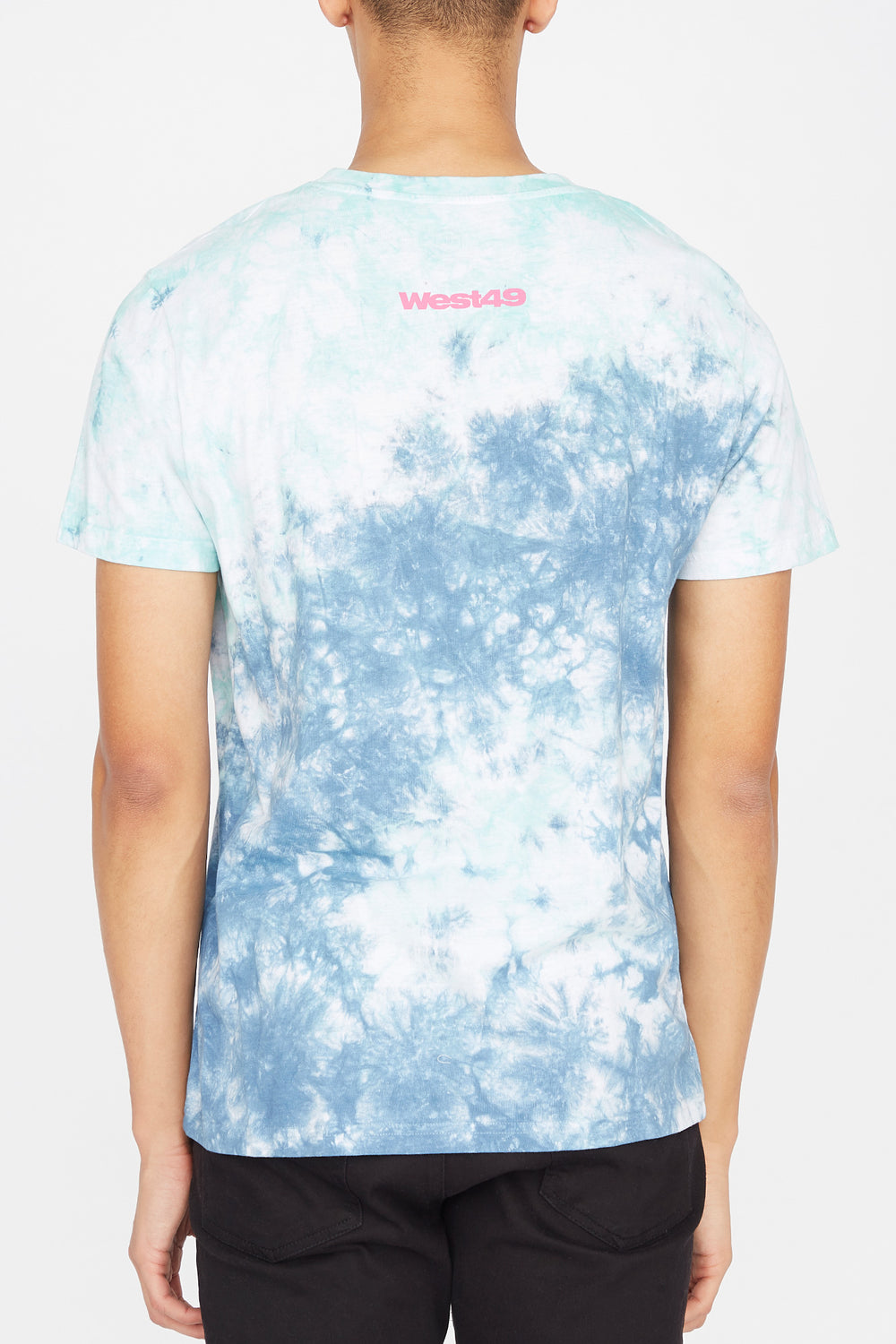 Mens Trippin' Out Tie-Dye T-Shirt Purple