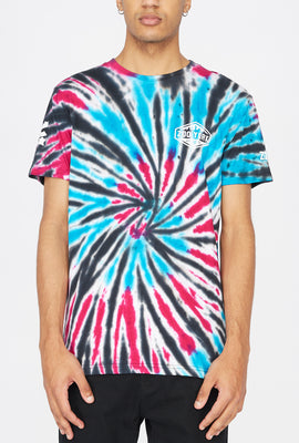 Zoo York Mens Skyline Logo Tie-Dye T-Shirt