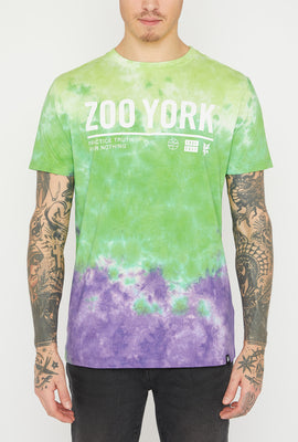 Zoo York Mens Practice Truth Tie-Dye T-Shirt