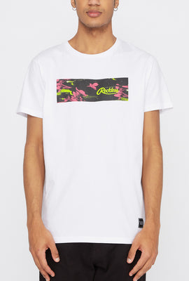 Young & Reckless Mens Neon Floral T-Shirt