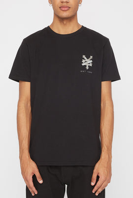 Zoo York Mens Camo Fill Logo T-Shirt