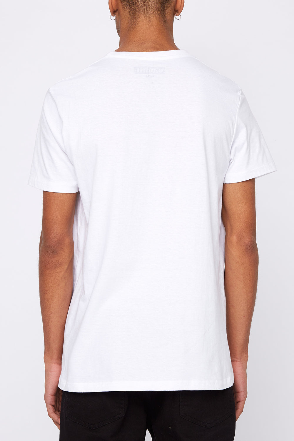 Zoo York Mens Patch Logo T-Shirt White