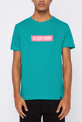 T-Shirt Logo Patch Zoo York Homme
