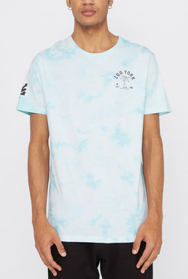 Zoo York Mens Palm Tree Logo Tie-Dye T-Shirt