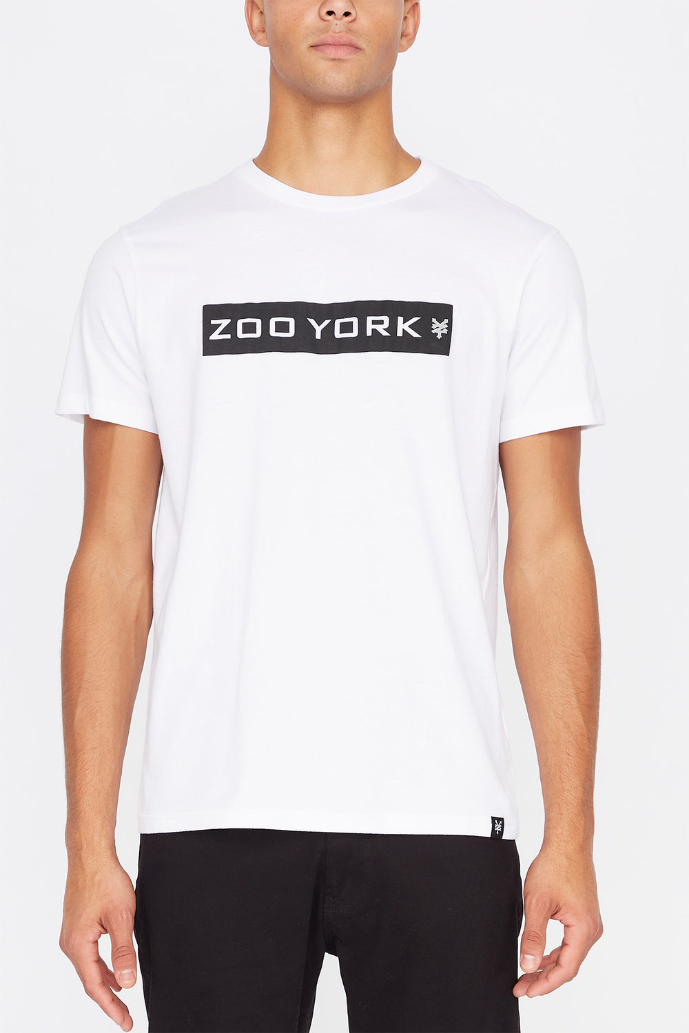 Zoo York Mens Box Logo T-Shirt White