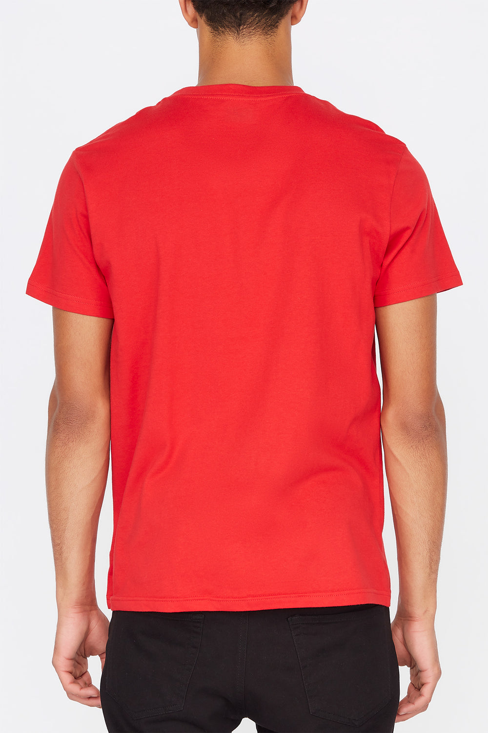 Zoo York Mens Box Logo T-Shirt Red
