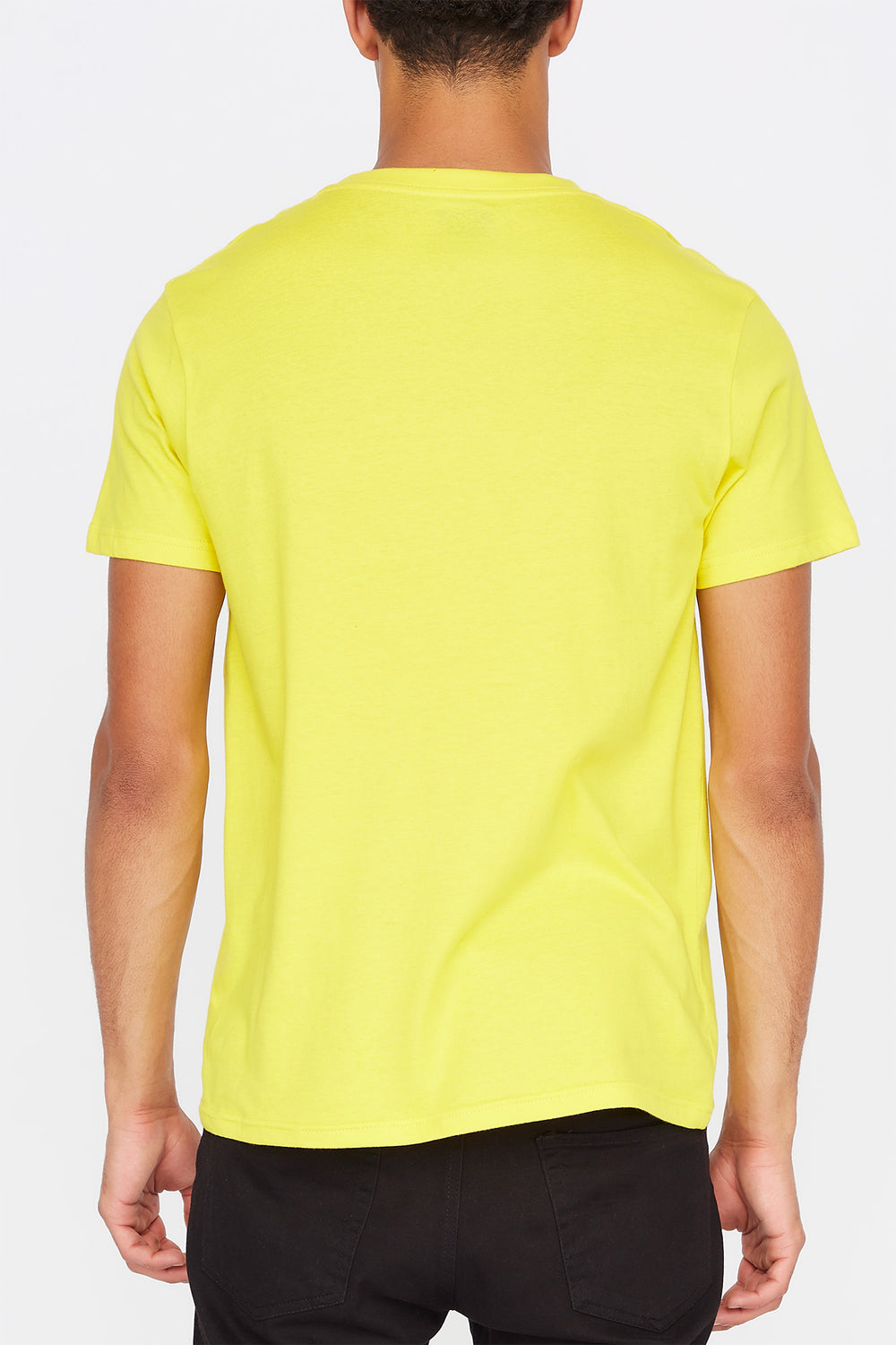 Zoo York Mens Box Logo T-Shirt Yellow