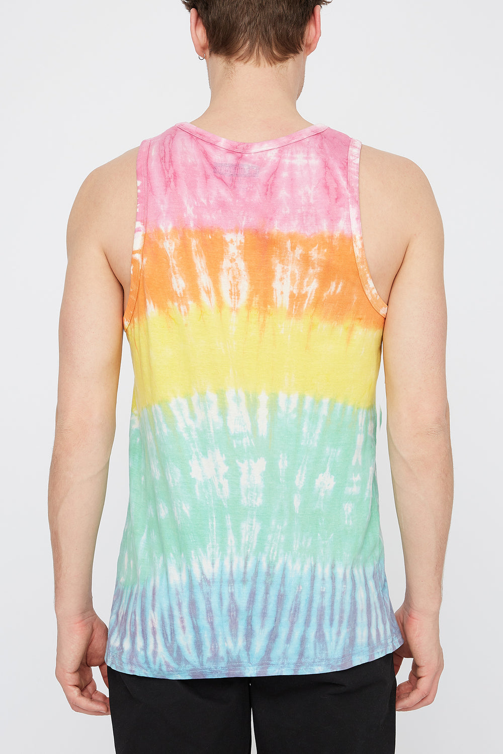 Zoo York Mens Tie Dye Tank Top Multi