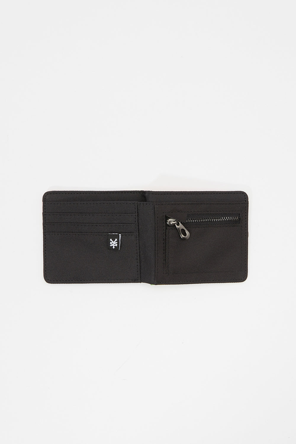 Zoo York Canvas Wallet Heather Grey