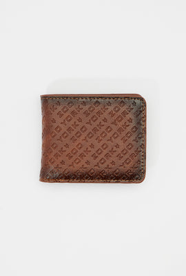 Zoo York Mens Faux Leather Wallet