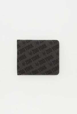 Zoo York Mens Canvas Logo Wallet