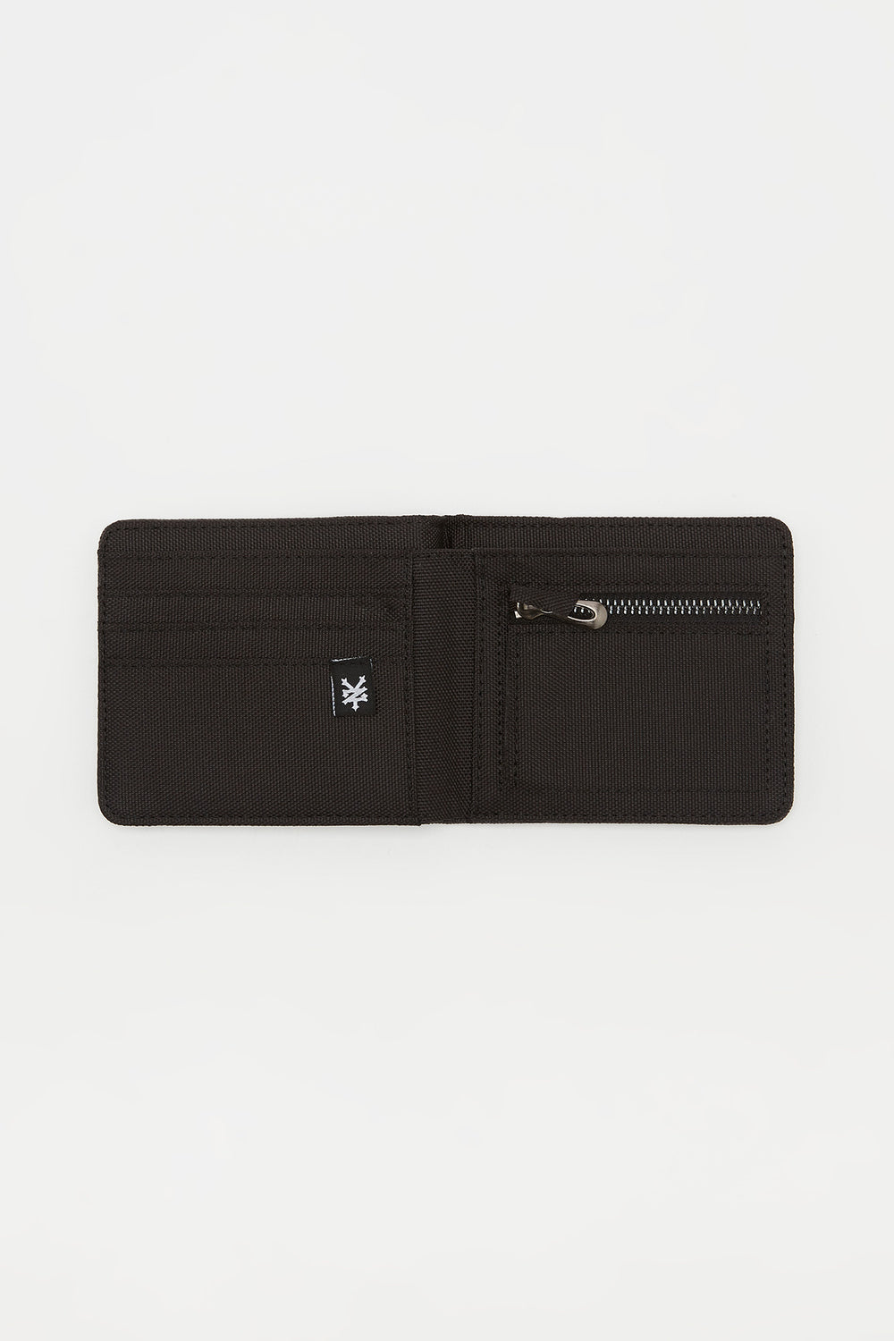 Zoo York Mens Canvas Logo Wallet Charcoal