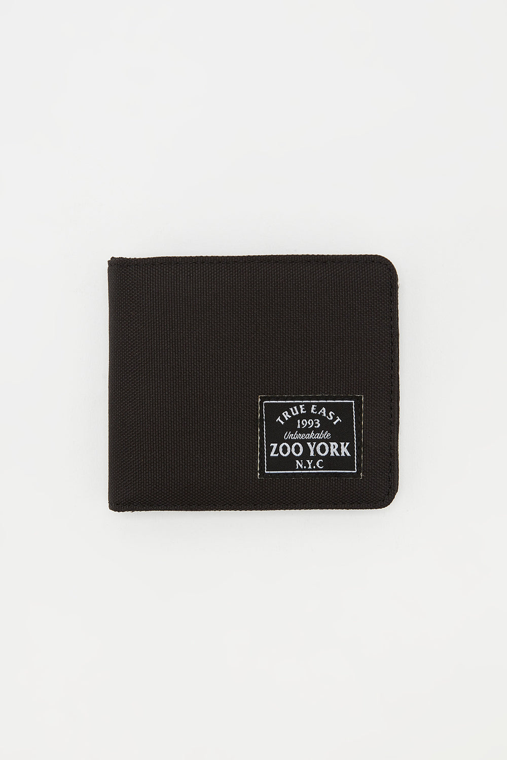 Zoo York Mens Canvas Wallet Black