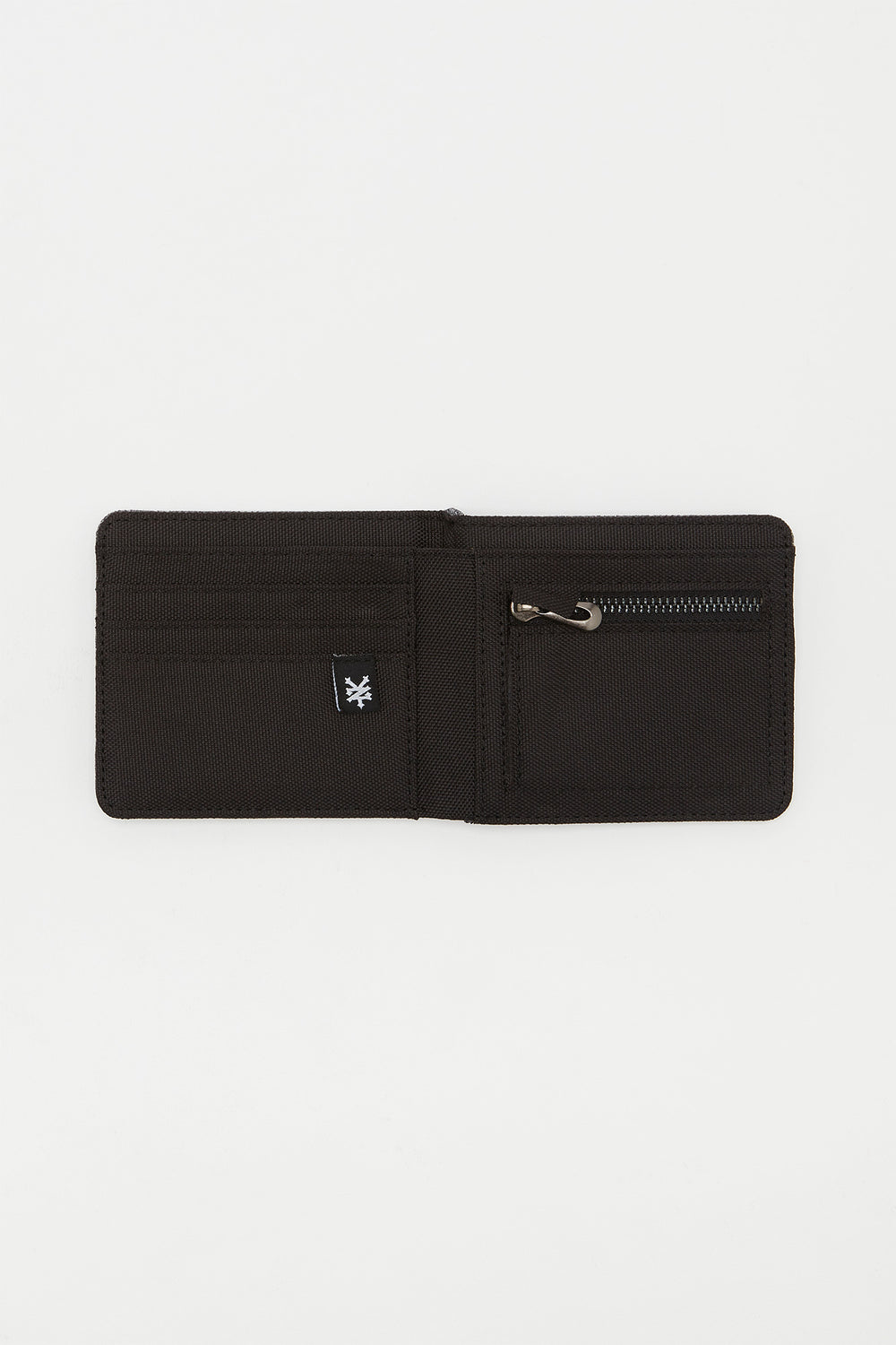 Zoo York Mens Canvas Wallet Heather Grey