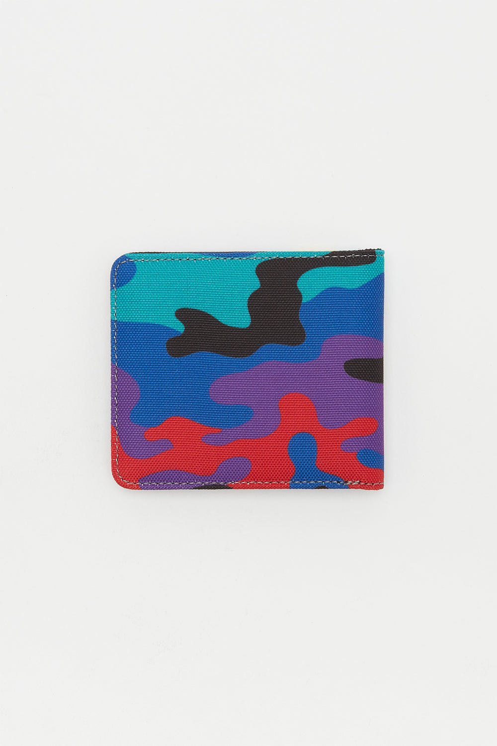 Zoo York Mens Rainbow Camo Canvas Wallet Multi