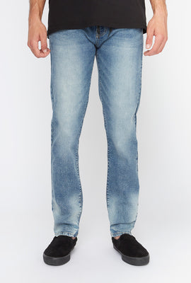Zoo York Mens Light Blue Skinny Jeans