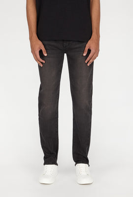 Zoo York Mens Slim Black Jean
