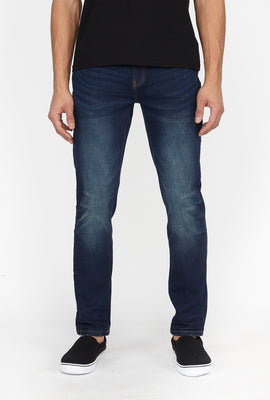 Zoo York Mens Skinny Dark Blue Jeans