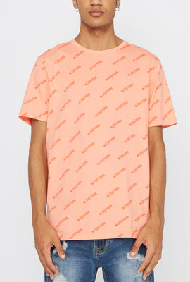 Zoo York Mens Logo Pattern T-Shirt