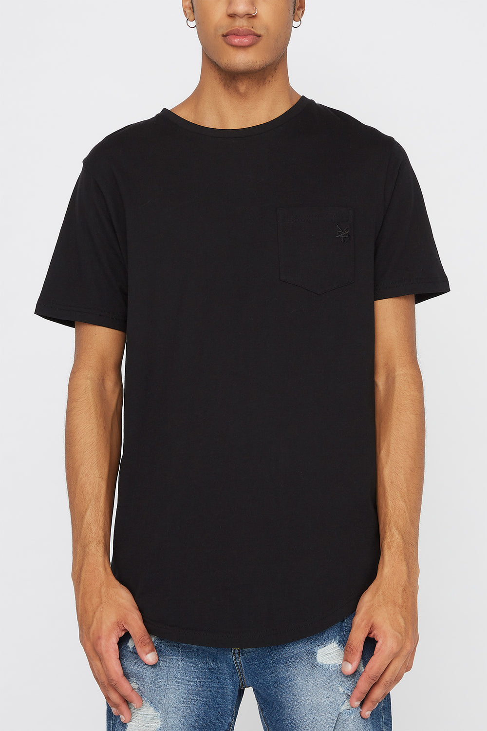 Zoo York Mens Pocket T-Shirt Black