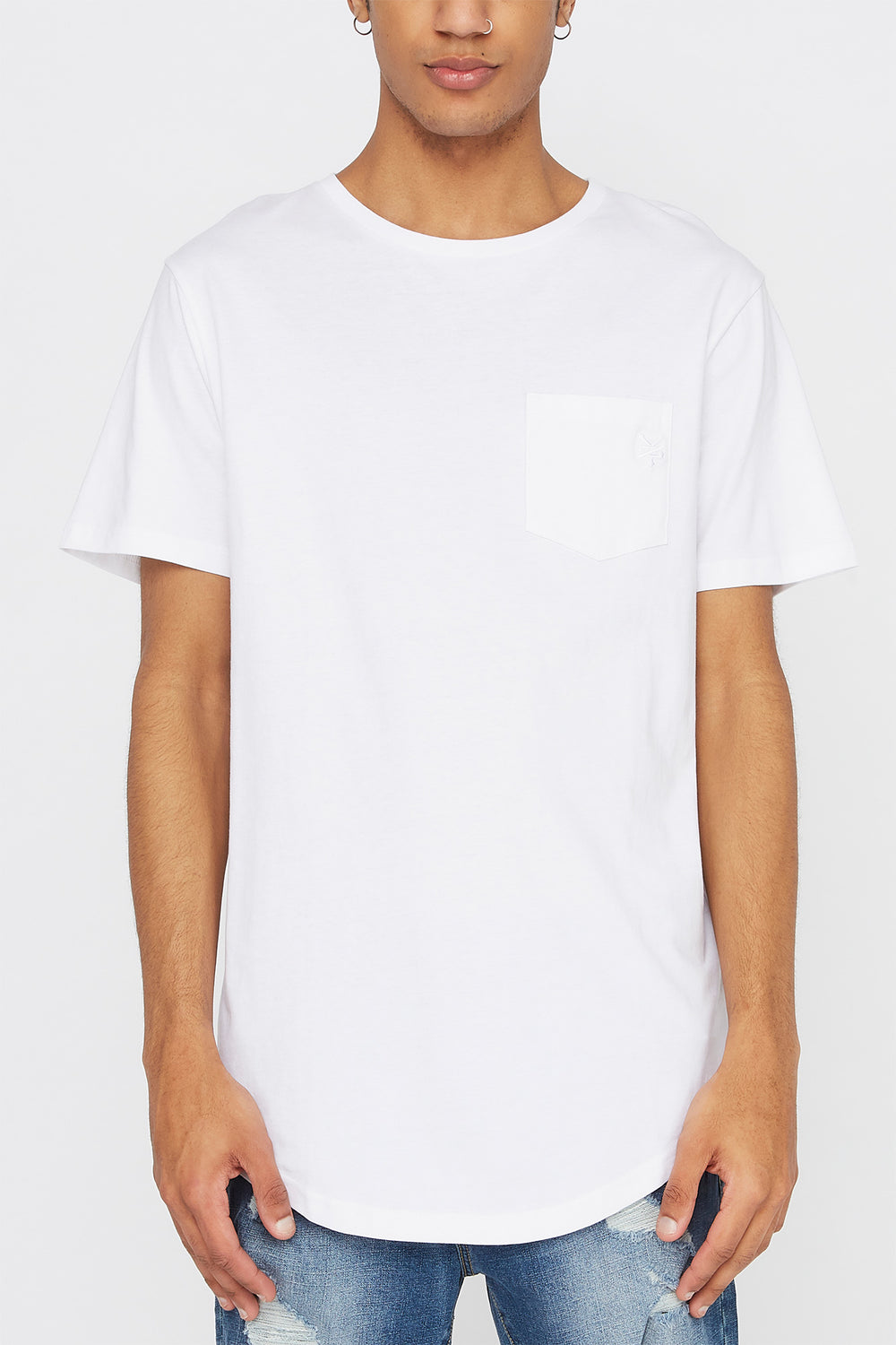 Zoo York Mens Pocket T-Shirt White