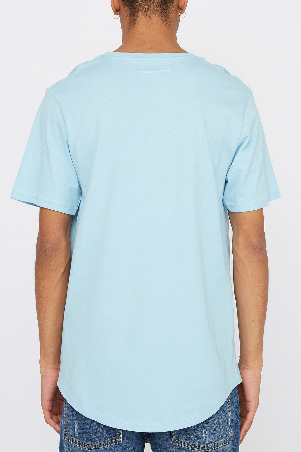Zoo York Mens Pocket T-Shirt Blue