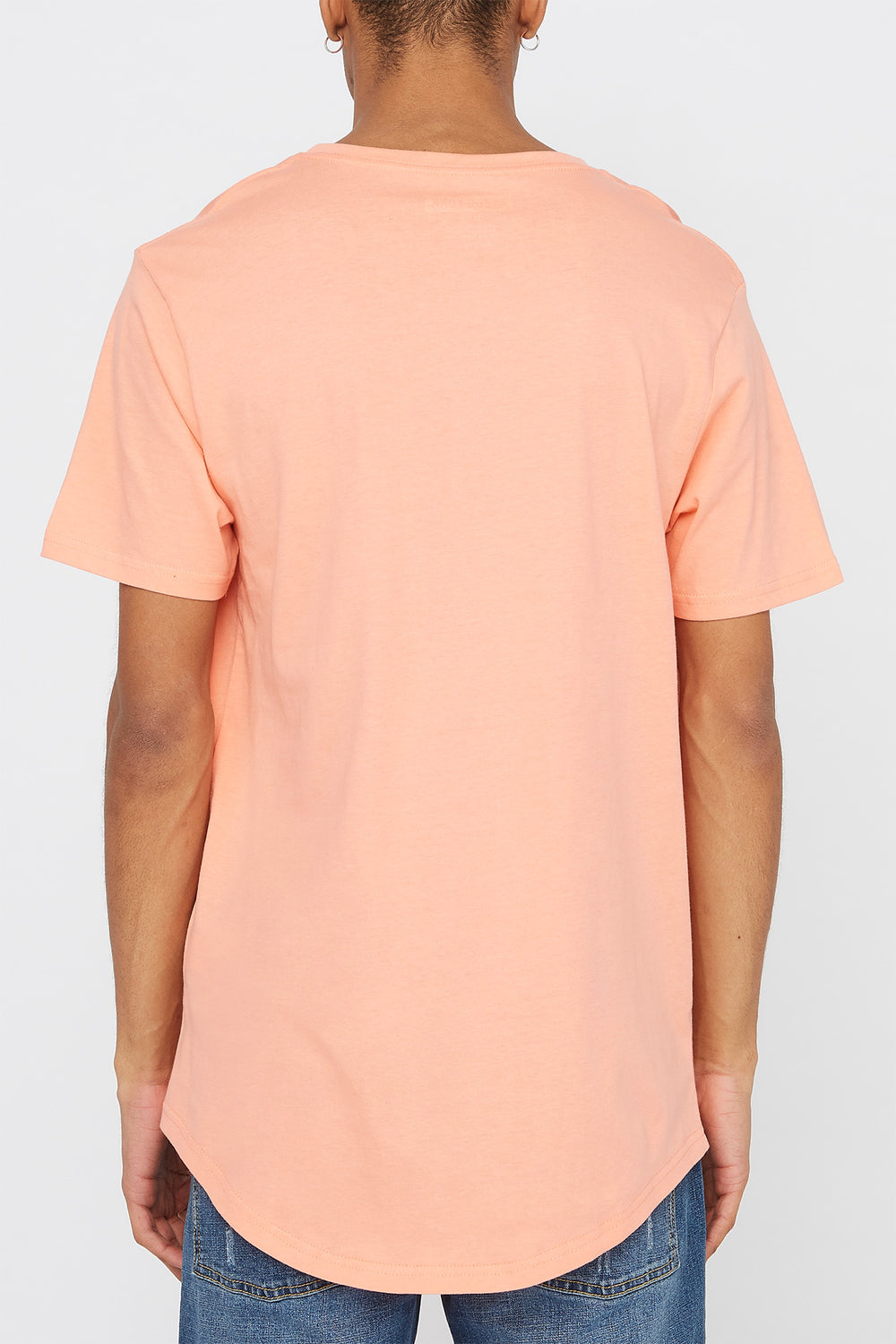 Zoo York Mens Pocket T-Shirt Coral
