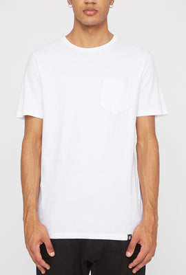 Zoo York Mens Embroidered Logo Pocket T-Shirt
