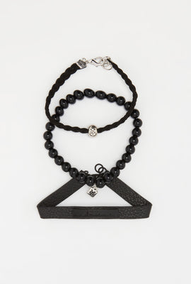 Zoo York All Black Bracelets