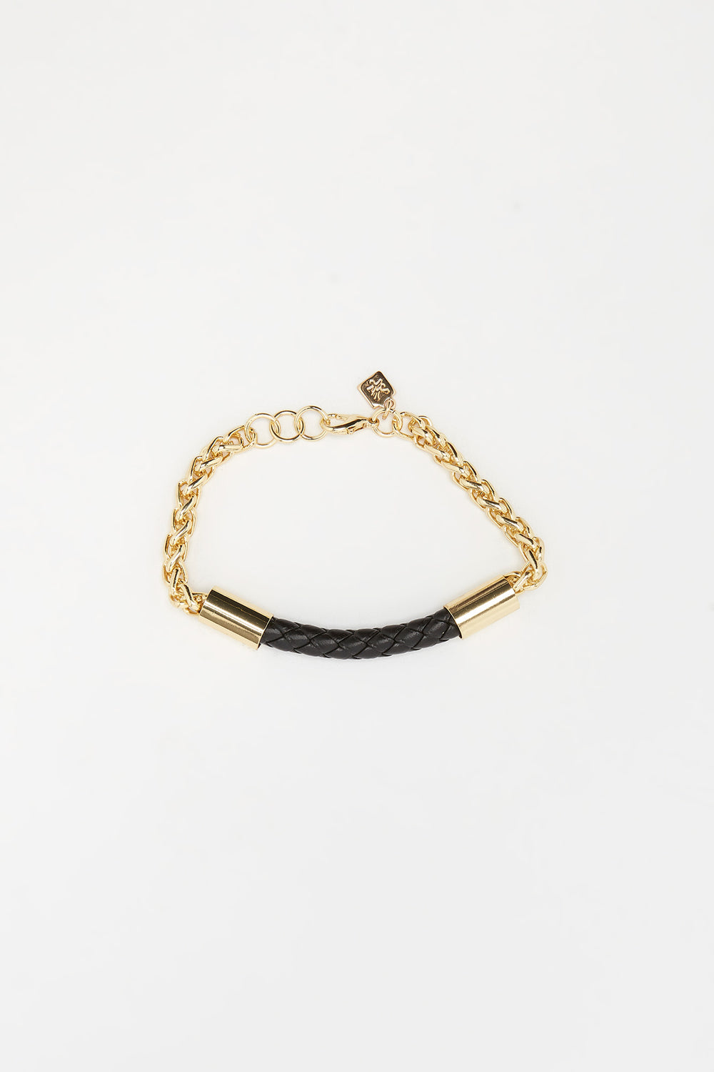 Zoo York Brown and Gold Tone Bracelets Brown