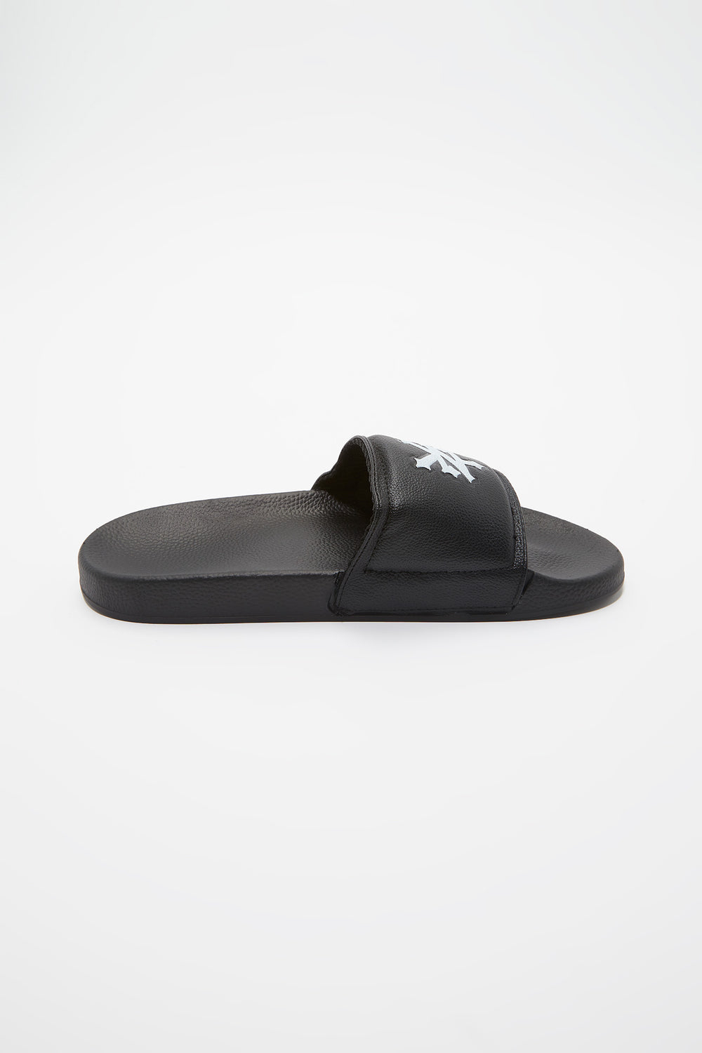 Zoo York Mens Graphic Slider Sandals Black