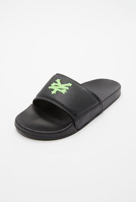 Zoo York Mens Graphic Slider Sandals