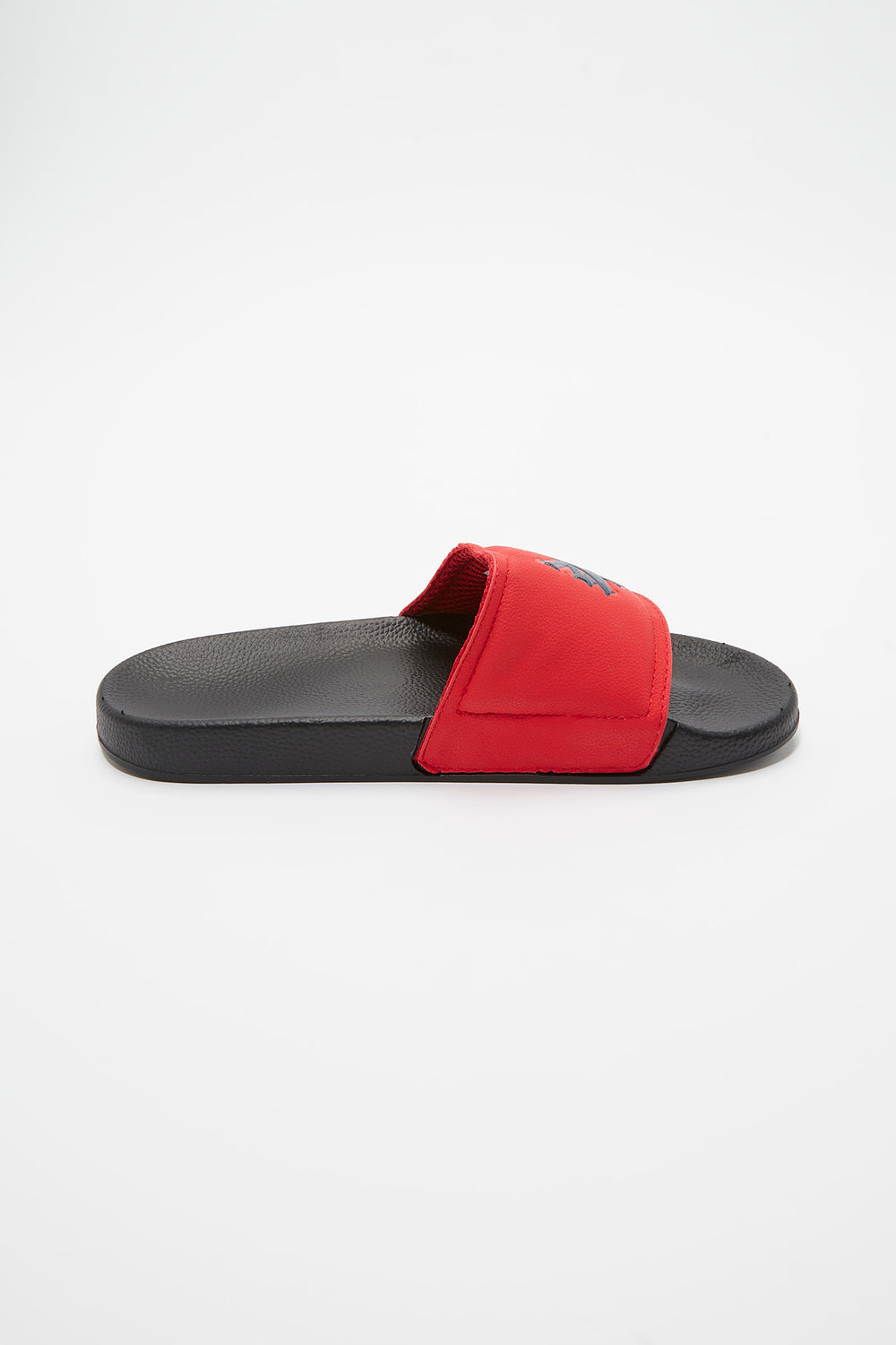Zoo York Mens Graphic Slider Sandals Red