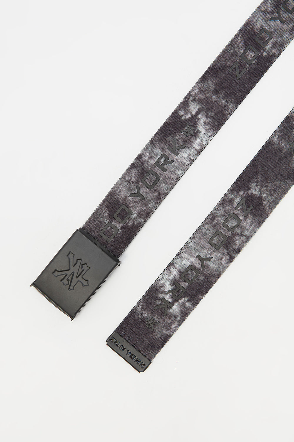 Zoo York Mens Tie Dye Belt Black