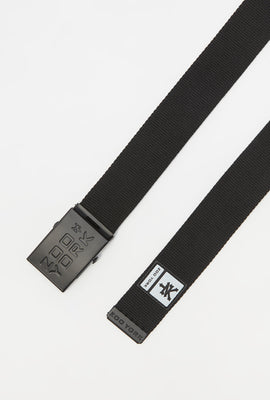 Zoo York Mens Rubber Logo Belt