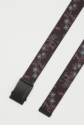 Ceinture Flamants Roses Zoo York Homme