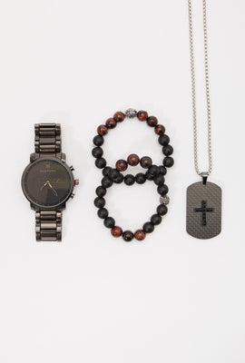 Zoo York Mens Watch And Accessories Set