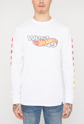 Hot Wheels X West49 Mens Long Sleeves