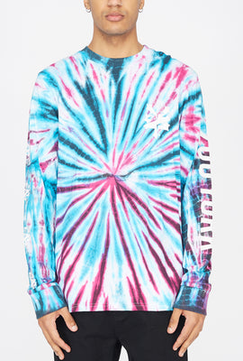 Zoo York Mens Tie-Dye Long Sleeves